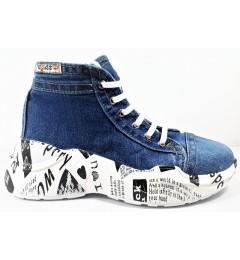 Ботинки 305, , 1697 грн., 305, E-sax, Джинсовая обувь