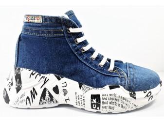 Ботинки 305 E-sax, Джинсовая обувь