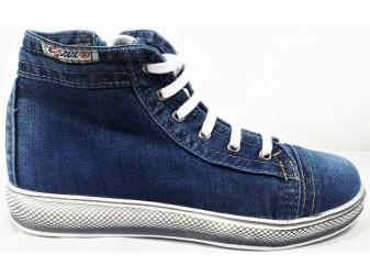 Ботинки 356 E-sax, Джинсовая обувь
