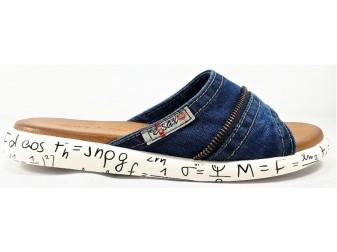 Сабо 5104 E-sax, Джинсовая обувь