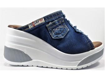 Сабо 5708 E-sax, Джинсовая обувь