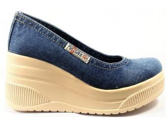 Туфли 500-40 E-sax, Джинсовая обувь
