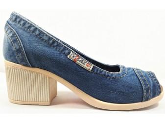 Туфли E-sax, Джинсовая обувь
