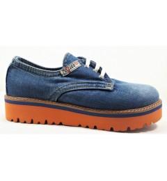 Мокасины на шнурке 550-i5k, , 1455 грн., 550-i5k, E-sax, Джинсовая обувь