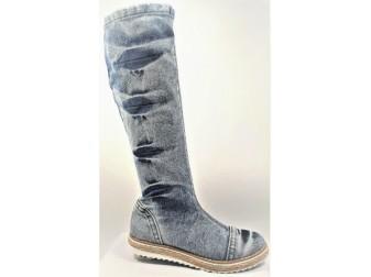 Сапоги E-sax, Джинсовая обувь