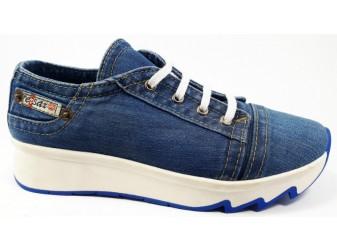 Кроссовки Ersax, Джинсовая обувь