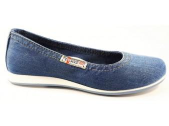 Балетки  E-sax, Джинсовая обувь