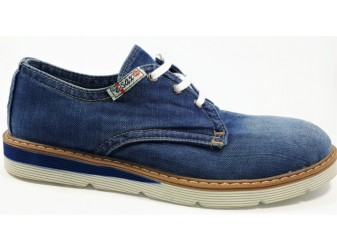 Джинсовые туфли 100-M2 E-sax, Мужская обувь