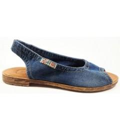 Босоножки, , 1333 грн., 1040-z38k, E-sax, Джинсовая обувь