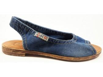 Босоножки 1040-z38k E-sax, Джинсовая обувь