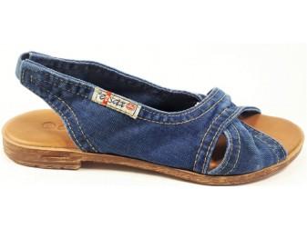 Босоножки 1058-z38k E-sax, Джинсовая обувь