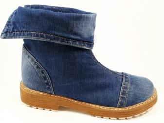 Ботинки 343-i4ks E-sax, Джинсовая обувь