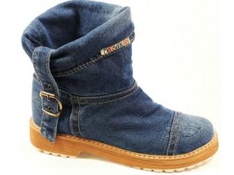 Ботинки E-sax, Джинсовая обувь