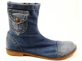Ботинки 331-39S E-sax, Джинсовая обувь