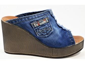Сабо 1708-d9 E-sax, Джинсовая обувь