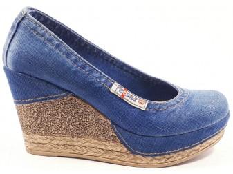 Туфли 500-к37-е3 Ersax, Джинсовая обувь