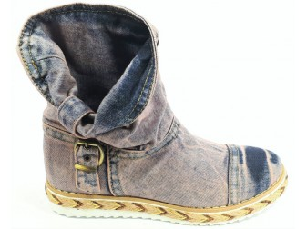 Ботинки 342-y1-y6 Ersax, Джинсовая обувь