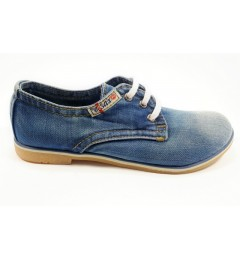 Мокасины на шнурке 550-39