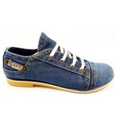 Mокасины на шнурке 701-39