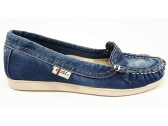 Мокасины 494-t12 Ersax, Джинсовая обувь