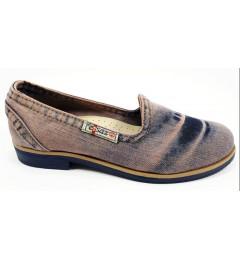 Балетки 495-y2-p15, , 1289 грн., Балетки 495-y2-p15, Ersax, Джинсовая обувь