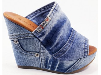 Сабо 1101-54 Ersax, Джинсовая обувь