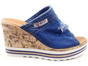 Сабо  Ersax, Джинсовая обувь