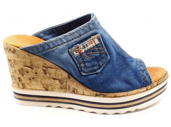 Сабо 1705-p23 Ersax, Джинсовая обувь