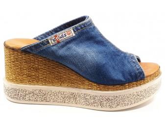 Сабо 1701-s31 Ersax, Джинсовая обувь