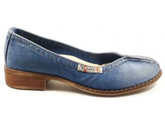 Туфли 502-y2 Ersax, Джинсовая обувь