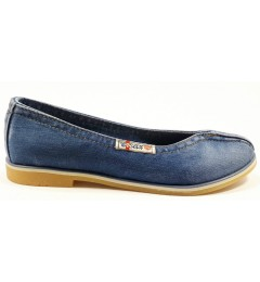 Балетки 502-39, , 1232 грн., Балетки 502-39, Ersax, Джинсовая обувь