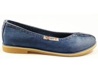 Балетки 502-39 Ersax, Джинсовая обувь