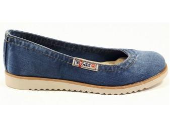 Балетки 500-L1 Ersax, Джинсовая обувь