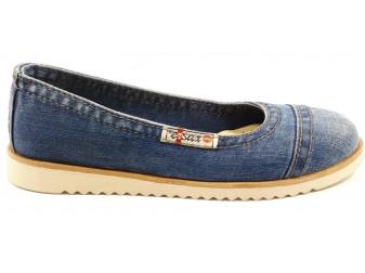 Балетки 533-L1 Ersax, Джинсовая обувь
