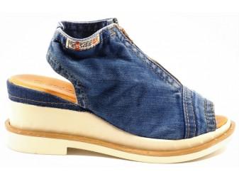 Босоножки 2001-s8 Ersax, Джинсовая обувь