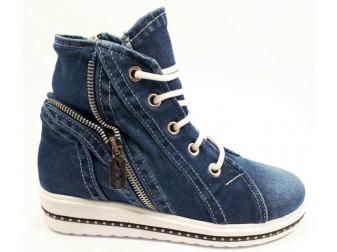 Ботинки00004 StarBluemoon, Джинсовая обувь