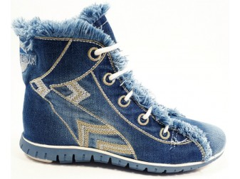 Ботинки 1057 StarBluemoon, Джинсовая обувь