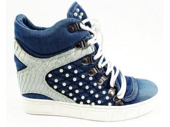 Сникерс 1065 StarBluemoon, Джинсовая обувь