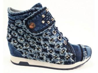Сникерс 5016 StarBluemoon, Джинсовая обувь