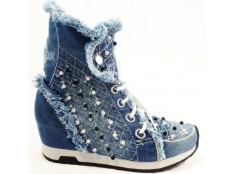 Сникерс00006 StarBluemoon, Джинсовая обувь