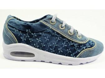 Кроссовки StarBluemoon, Джинсовая обувь