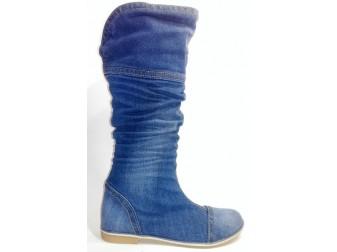 Сапоги Ersax, Джинсовая обувь