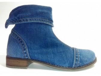 Ботинки 343-63 Ersax, Джинсовая обувь