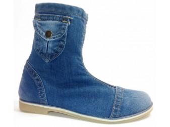 Ботинки 331-39 Ersax, Джинсовая обувь