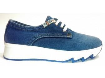 кроссовки 550-z5 Ersax, Джинсовая обувь