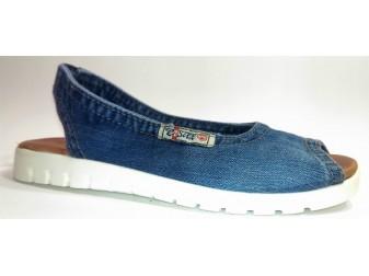 Босоножки 1040-s2 Ersax, Джинсовая обувь