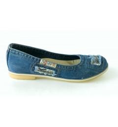 Балетки 500-N16-39, , 1120 грн., 500-N16-39, Ersax, Джинсовая обувь