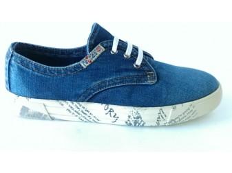 Джинсовые туфли 102-R Ersax, Мужская обувь