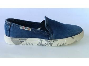Джинсовые туфли 108-R Ersax, Мужская обувь