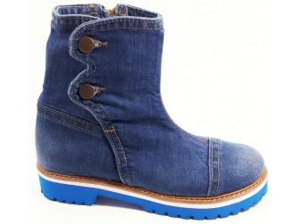 Ботинки 396-i4m Ersax, Джинсовая обувь
